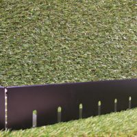 Black edge retention trim