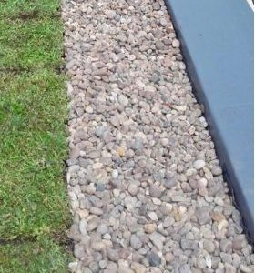 Pebbles Roof Drainage