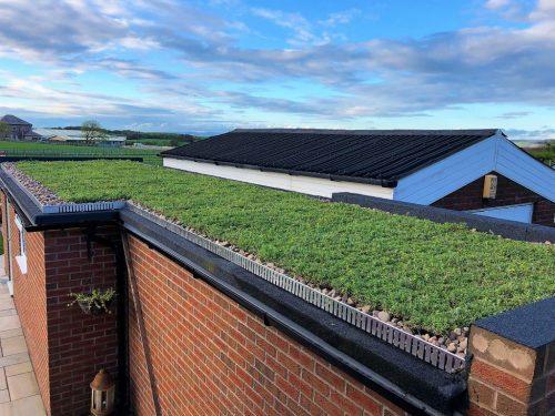Retention Trims Aluminium Silver Green Roof Edge Trims