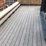 Roof Composite Decking with adjustable supports