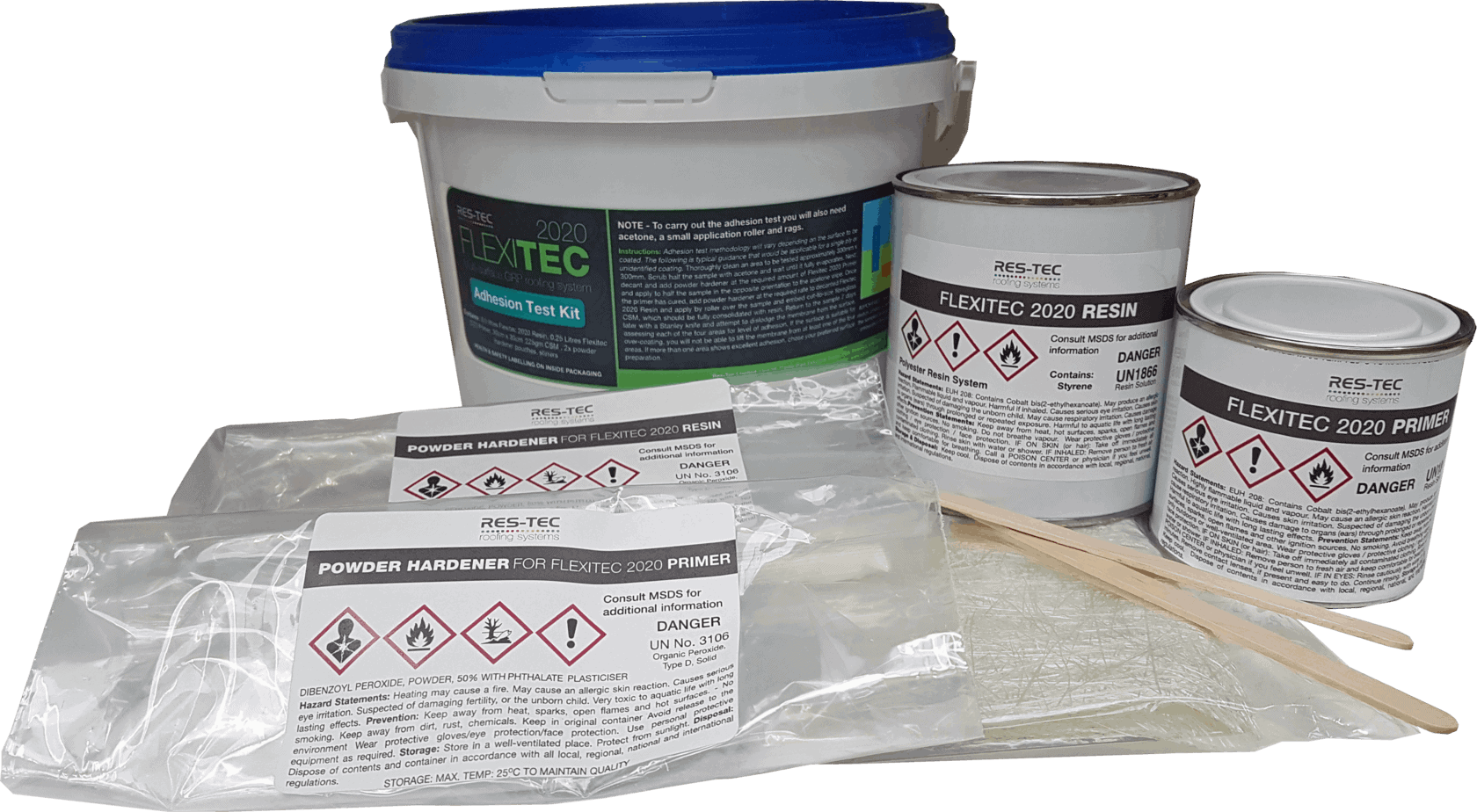 Flexitec 2020 Adhesion Test Kit Sedum Supply