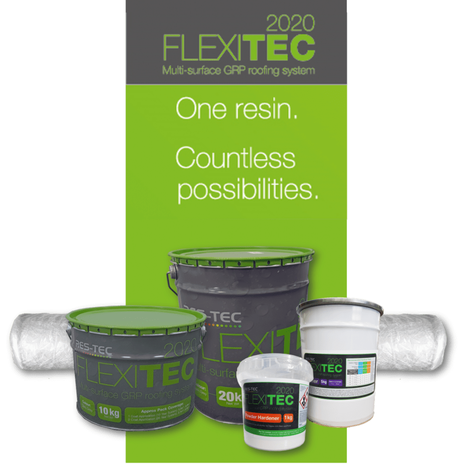 Flexitec 2020 roof system